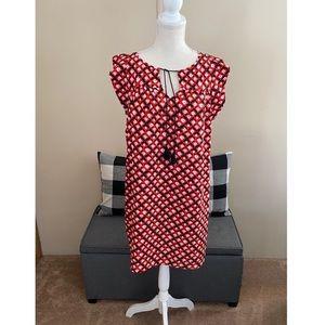 NWT Ann Taylor Loft Ruffle Sleeve Shift Dress